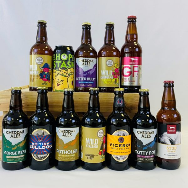 Great British Booze Cupboard - Gift of 12 Mixed Beers - Selection 2 1
