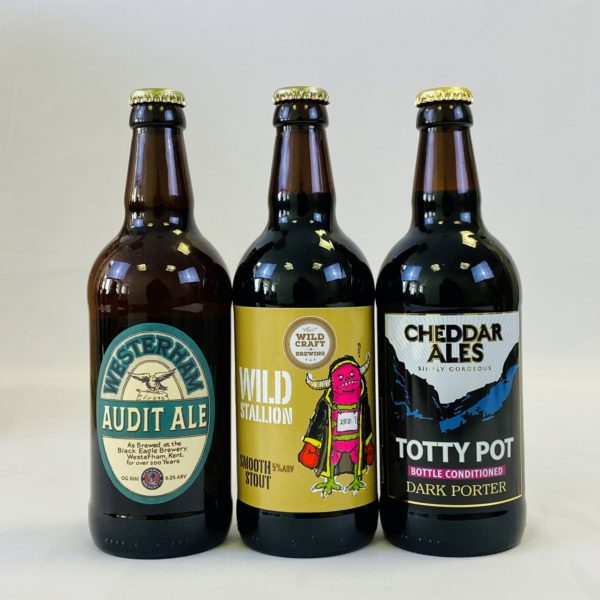 Great British Booze Cupboard - Gift of 6 Porters & Stouts 3