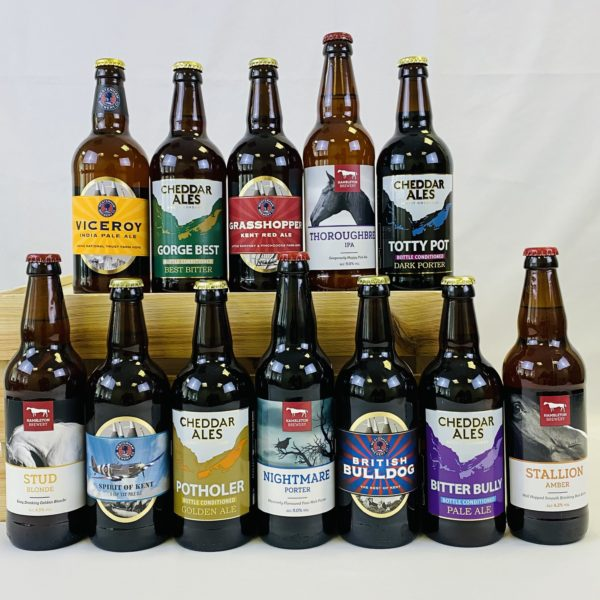 Great British Booze Cupboard - Gift of 12 Mixed Beers - Selection 1 1