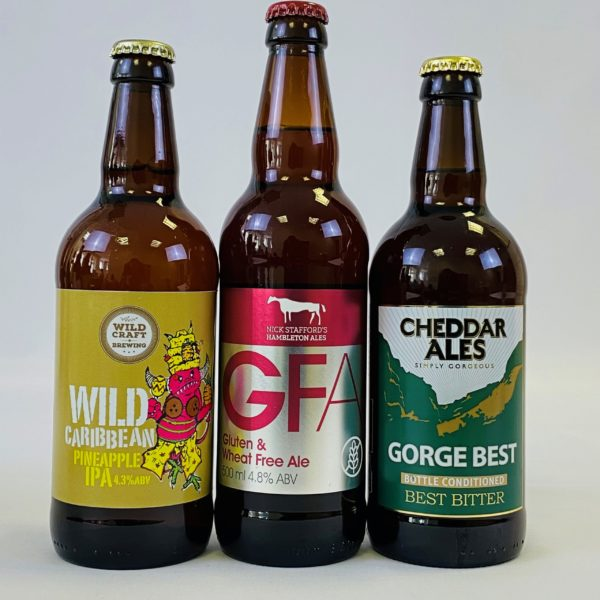 Great British Booze Cupboard - Gift of 12 Gluten Free Mixed Beers 3