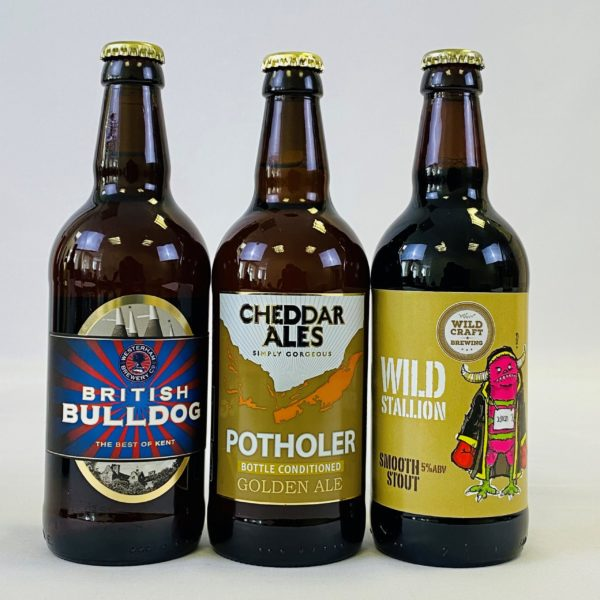 Great British Booze Cupboard - Gift of 12 Gluten Free Mixed Beers 4