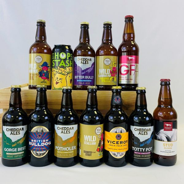 Great British Booze Cupboard - Gift of 12 Gluten Free Mixed Beers 1