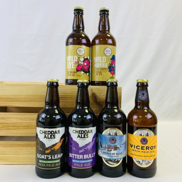 Great British Booze Cupboard - Gift of 6 Gluten Free Pale Ales 1